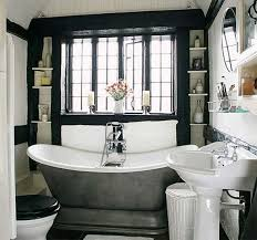 bathroom ideas vintage black and white vintage bathroom ideas