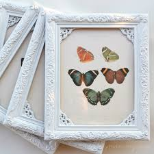 diy shabby chic butterfly art for 1 u0026 a value village 50 off