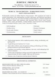 skills and qualifications resume example resume ideas