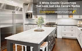 Kitchens With White Granite Countertops - granite that looks like marble u2013 countertopinvestigator com