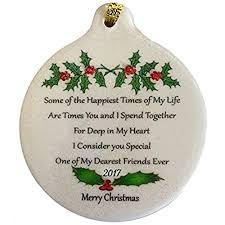 best friends ornaments