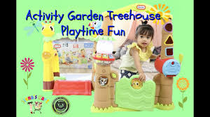 little tikes light n go activity garden treehouse little tikes light n go activity garden treehouse unboxing