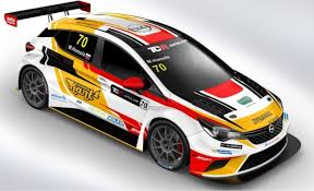 opel race car mat u0027o homola joins corthals at dg sport opel team touringcartimes