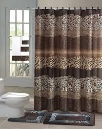 Fashionista Shower Curtain by Details About Zambia Safari 15 Piece Bathroom Accessory Set 2 Bath