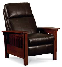 Leather Recliners South Africa Mission High Leg Recliner In Oak By Lane Home Gallery Stores