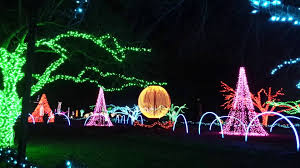 holiday lights tour detroit christmas light show at detroit zoo 1 youtube