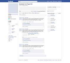 download a free facebook fan page gui psd wireframe adobe