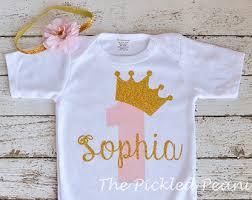 birthday onesie pink princess shirt etsy