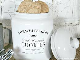 personalized cookie jars personalized cookie jars airdreaminteriors