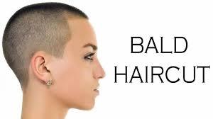 bald haircut women bald hair cut for women 2017 2018 youtube