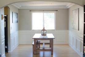 Wainscoting Dining Room How To Diy Wainscoting The Created Home