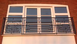 Art Deco Balcony by Balconies