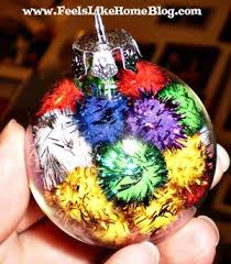 another pom pom ornament to make with a preschooler feels like home
