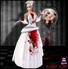 Bloody Mary Halloween Costume Marketplace Beauty Killer Bloody Mary