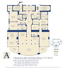 St Regis Residences Floor Plan Ocean Three Sunny Isles Condo 18911 Collins Ave Miami Beach Fl