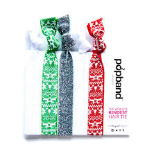 pop bands hair christmas jumper popbands festive print hair bands popband london