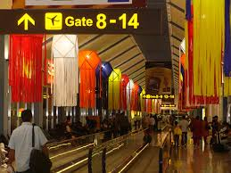 vesak decorations at colombo international airport flickr