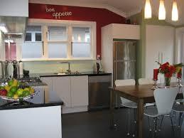 Black Granite Bench Tops White Kitchen Black Benchtop Interior Design