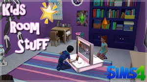review ts4 kids room stuff pack youtube