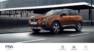 peugeot sa used cars peugeot s a 2016 q3 results earnings call slides peugeot