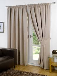 Cream Blackout Curtains Eyelet by Pair Of Beige 90