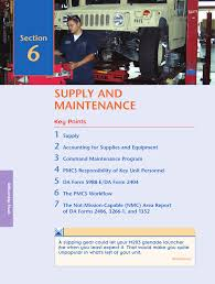 supply and maintenance