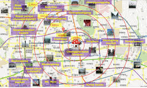 map attractions seoul attractions map seoul tourist attractions map south korea
