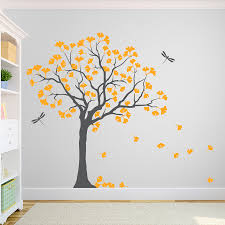 ginkgo tree wall decal