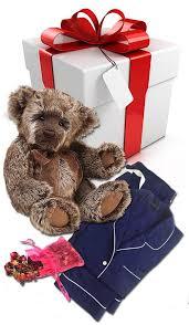 teddy gram delivery pajamas teddy gram gift set pajama shoppe