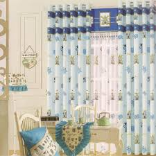 baby blue beautiful living room curtains for kids