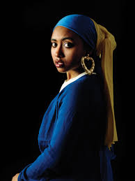 earring girl the girl with the bamboo earring i had to do a take for a