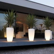 these lighted pots are they solar or battery operated