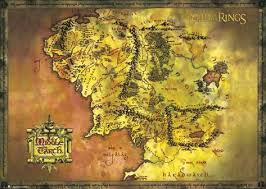 earth map uk lord of the rings middle earth map posters allposters co uk