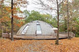flying saucer shaped house takes design to new heights