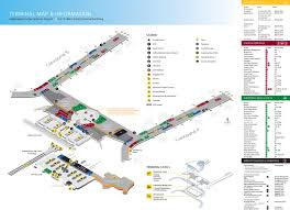 Las Vegas Terminal Map by Indianapolis Airport Terminal Map Indianapolis International