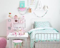 girls bedding etsy