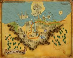 Map Of Mordor Agarochir Bestiary Lord Of The Rings Online Zam