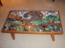 glass mosaic coffee table tables uk painted and m thippo