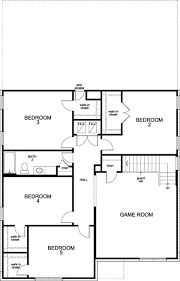 plan 3417 u2013 new home floor plan in copano ridge by kb home