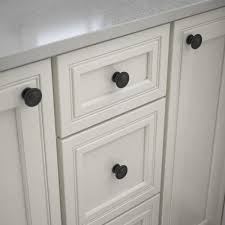 home depot for kitchen cabinet handles liberty harmon 1 3 8 in 35mm matte black cabinet