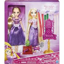 rapunzels hair extensions disney princess rapunzel s royal ribbon salon walmart