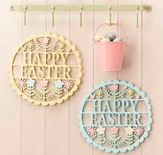 Easter Decorations Ireland by Happy Easter Sign Easter Decoration By The Chicken And The Egg