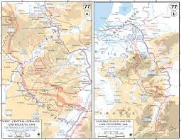 Map Of World War 1 by Map Of Wwii Summary Of The Rhineland Campaign 1945