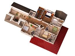 home plan 3d view christmas ideas the latest architectural