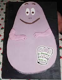 cuisine barbapapa moelleux à la châtaigne gâteau barbapapa en pâte à sucre annso