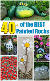 Rock Garden Pictures Ideas by Over 40 Of The Best Rock Painting Ideas Kitchen Fun With My 3 Sons