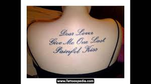 best chest tattoo quotes mother quotes for tattoos youtube