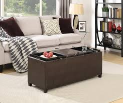 amazon com convenience concepts designs4comfort tribeca ottoman
