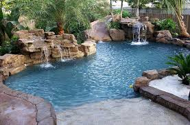 pools with waterfalls swimming pool beautiful home design ideas with luxury swimming