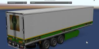 kenworth truck and trailer kenworth t680 gold edition skin trailer mod american truck